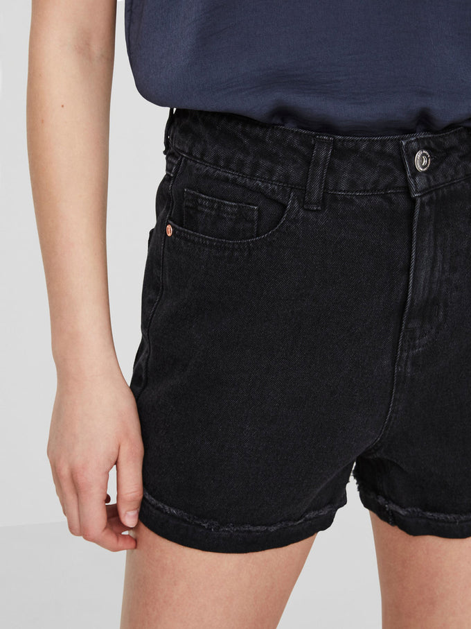 VMBE DENIM SHORTS BLACK