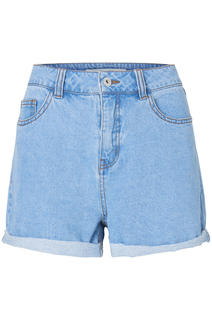 VMBE DENIM SHORTS LIGHT BLUE DENIM