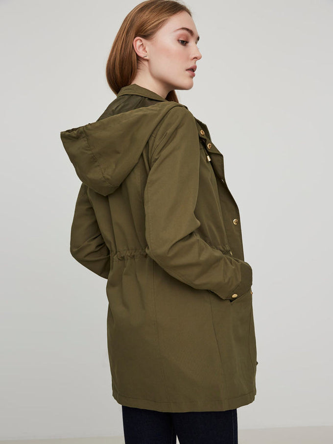 VMPERNILLE LIGHT PARKA Ivy Green