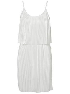 SHORT PLEATED DRESS