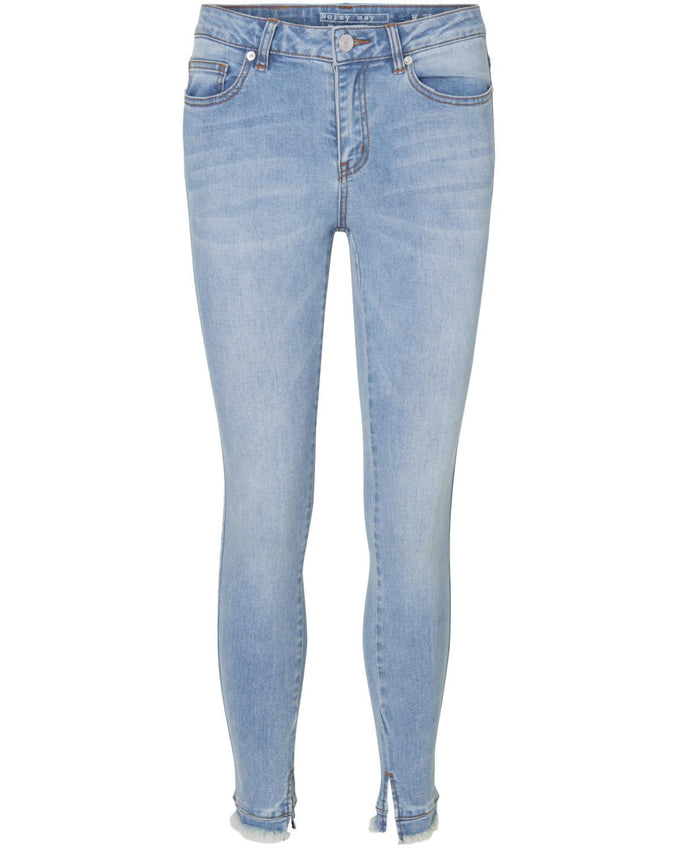 NMLUCY NW SLIT ANKLE 492 JEANS Light Blue Denim