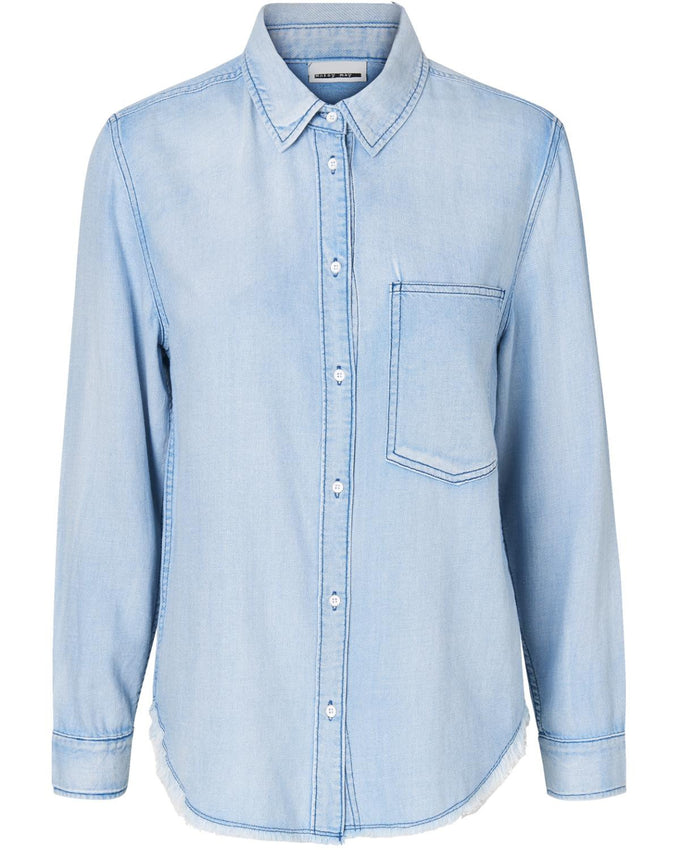 NMALIX DENIM SHIRT LIGHT BLUE DENIM