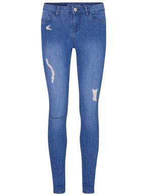 DISTRESSED SKINNY FIT JEANS 877