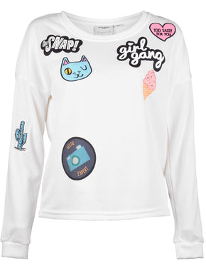 VMDIDDE PATCH SWEATSHIRT