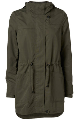 LIGHT HIGH-LOW PARKA