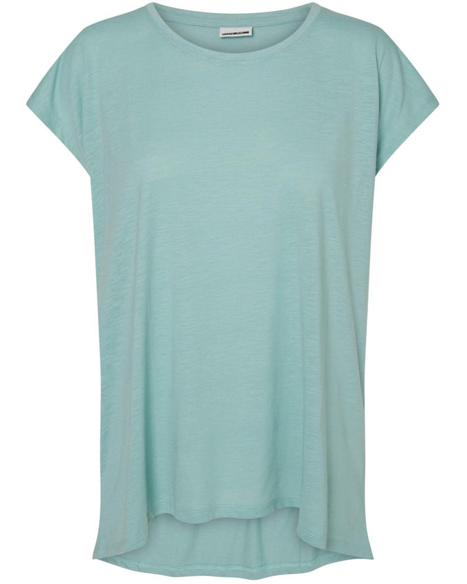 NMMATHILDE LOOSE T-SHIRT BLUE SURF