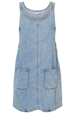 ROBE-SALOPETTE EN DENIM