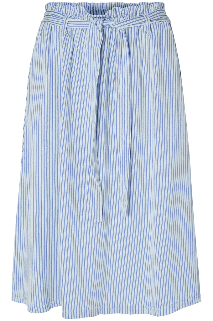 RIBBED MIDI SKIRT PLEIN AIR