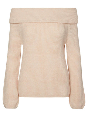 VMIDA OFF-THE-SHOULDER SWEATER