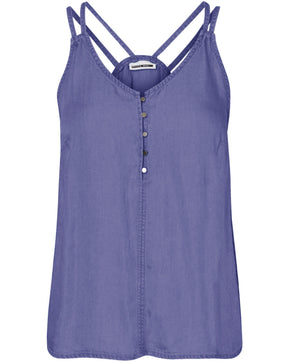 BUTTONED TENCEL CAMI