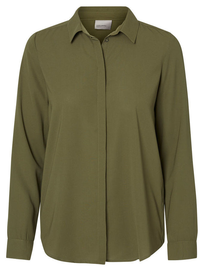 VMRINA SHIRT IVY GREEN