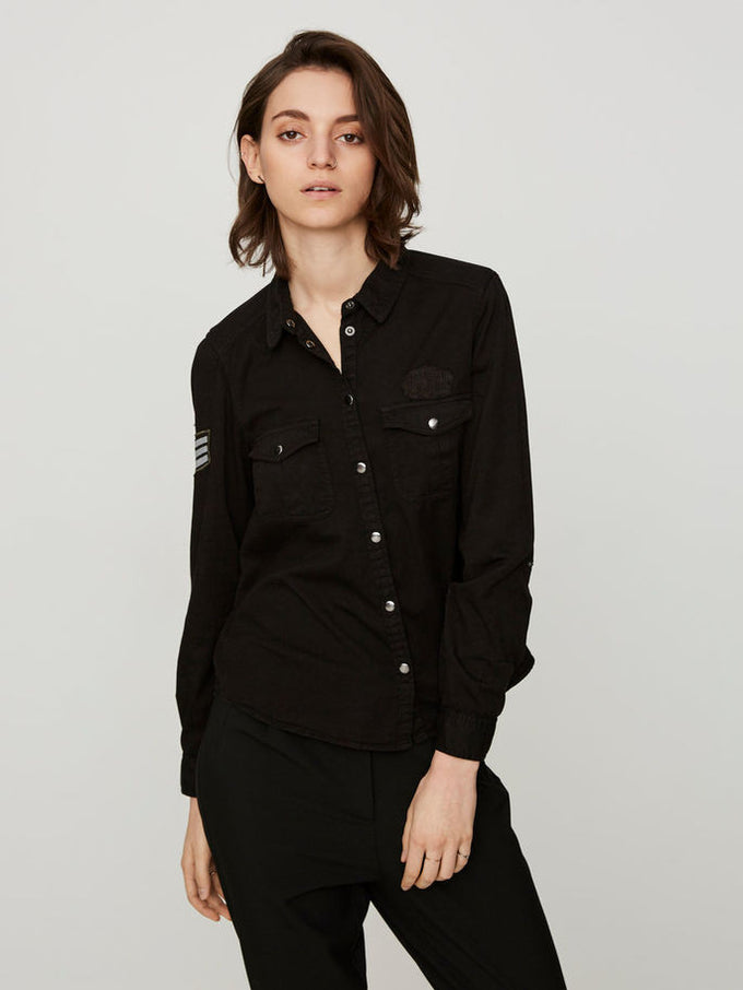 VMRANDY SHIRT BLACK