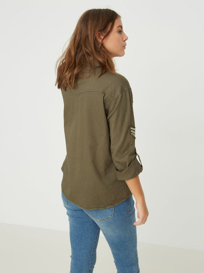 VMRANDY SHIRT IVY GREEN