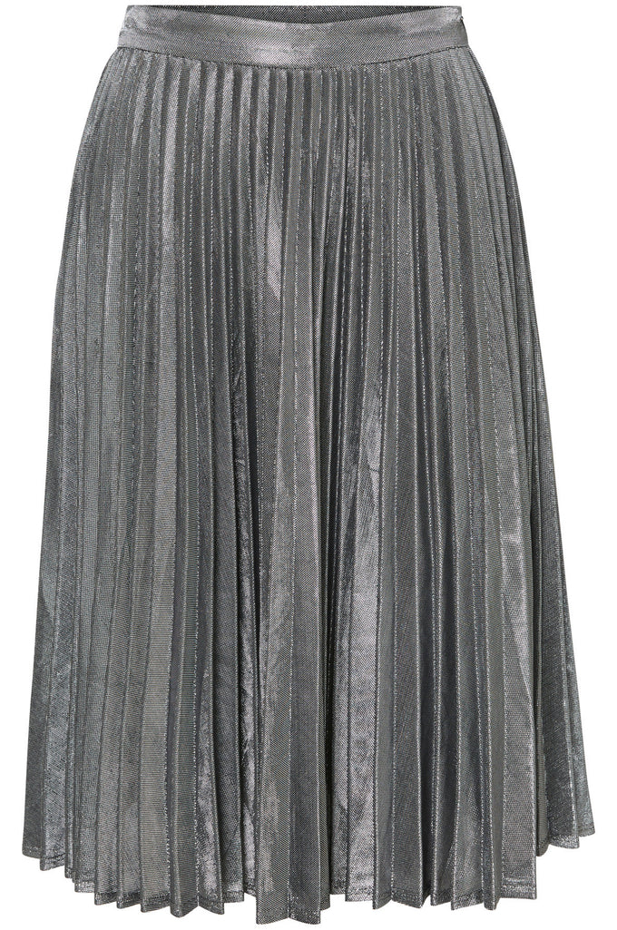 VMYVONNE LUREX SKIRT BLACK