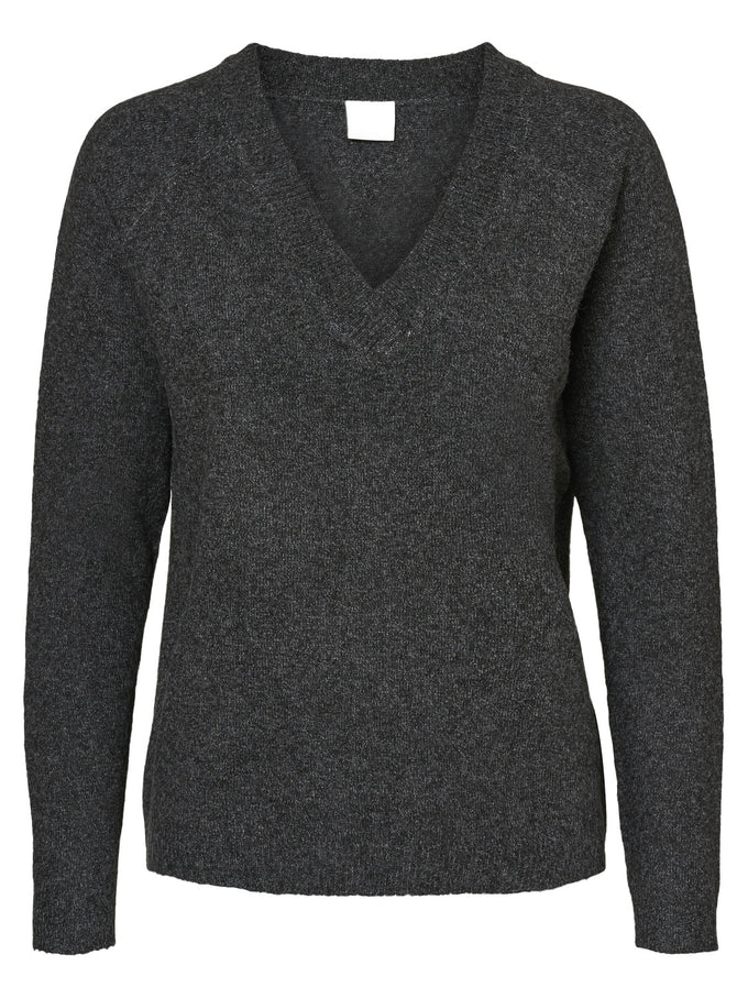 ALPACA WOOL-BLEND SWEATER BLACK BEAUTY