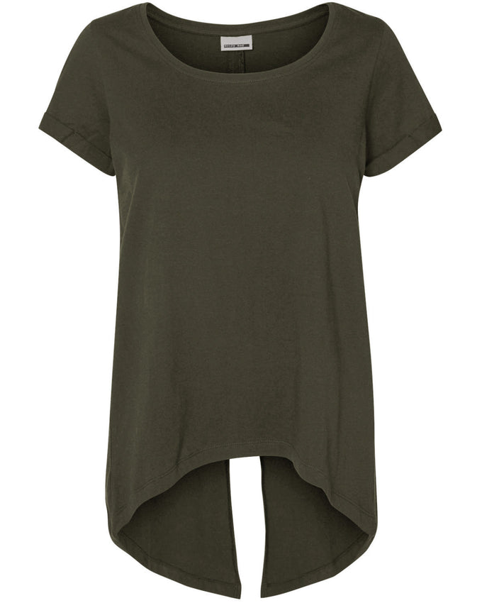 NMFRED T-SHIRT IVY GREEN