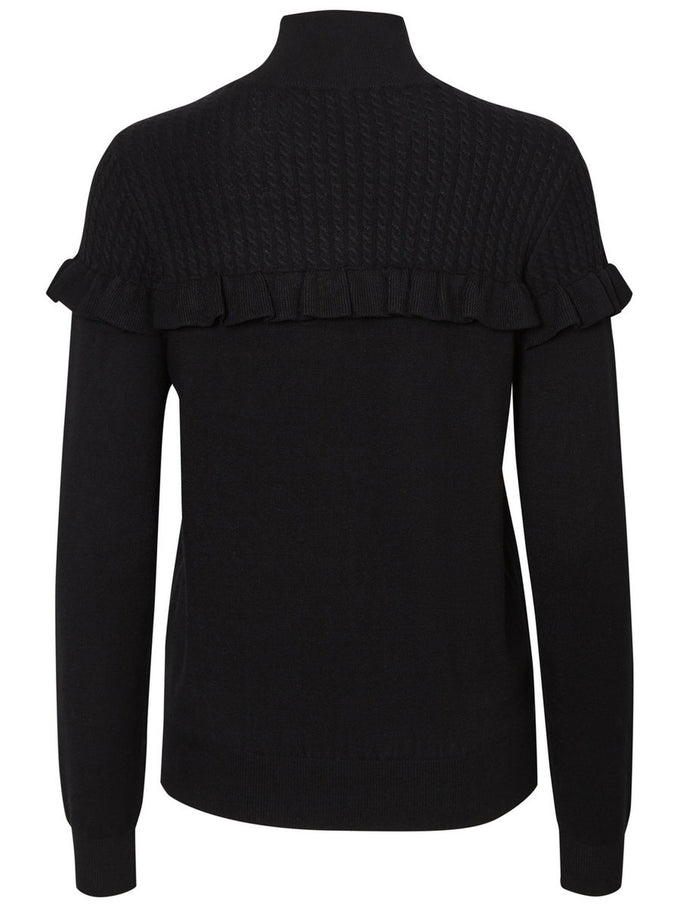 HIGH NECK SWEATER BLACK BEAUTY