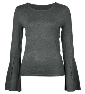 BELL SLEEVE THIN SWEATER