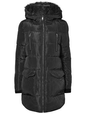 3/4 QUILTED PARKA