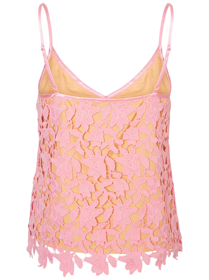 ALL-OVER LACE CAMI ORCHID SMOKE