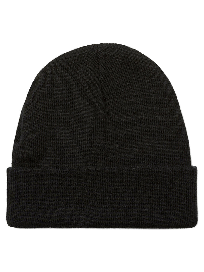 CLASSIC SOLID BEANIE BLACK