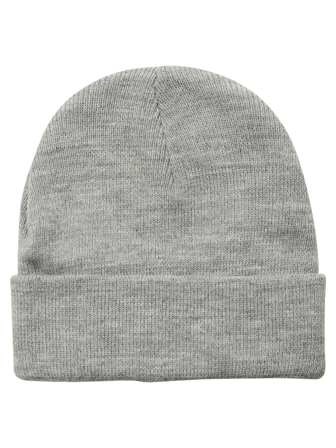 CLASSIC SOLID BEANIE LIGHT GREY MELANGE