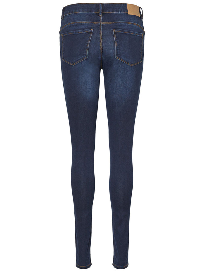 VMSEVEN SLIM FIT SHAPE-UP JEANS 509 DARK BLUE DENIM