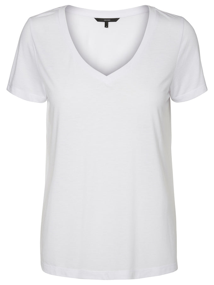 COLOURFUL BASIC T-SHIRT BRIGHT WHITE