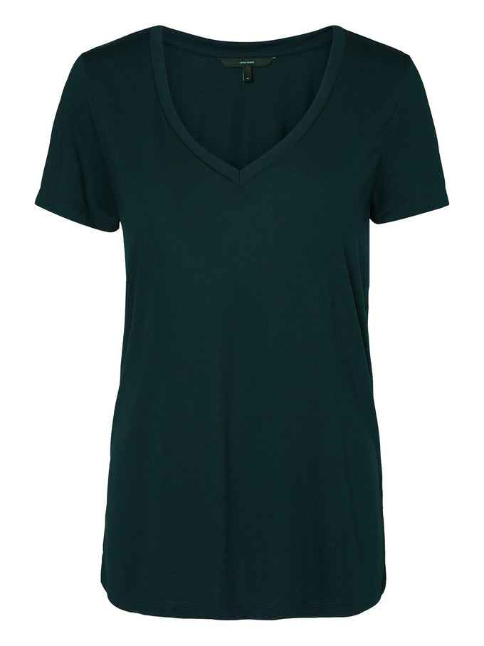 COLOURFUL BASIC T-SHIRT GREEN