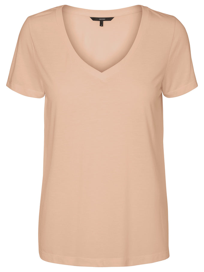 COLOURFUL BASIC T-SHIRT ROSE CLOUD