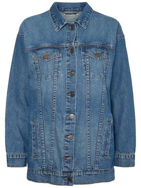 VESTE EN DENIM À COUPE AMPLE