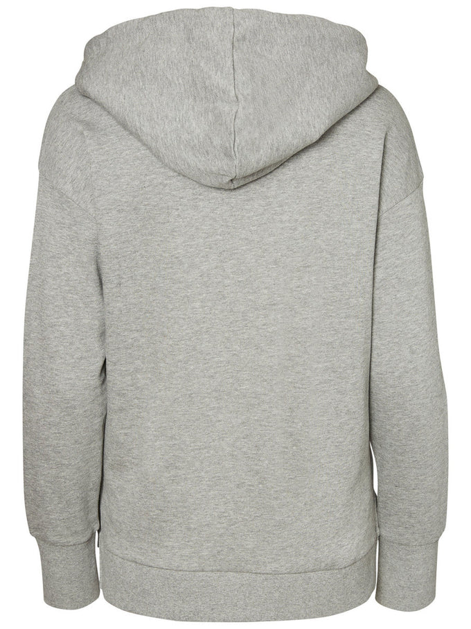 SUPER SOFT HOODIE LIGHT GREY MELANGE