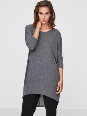 LOOSE HIGH-LOW T-SHIRT