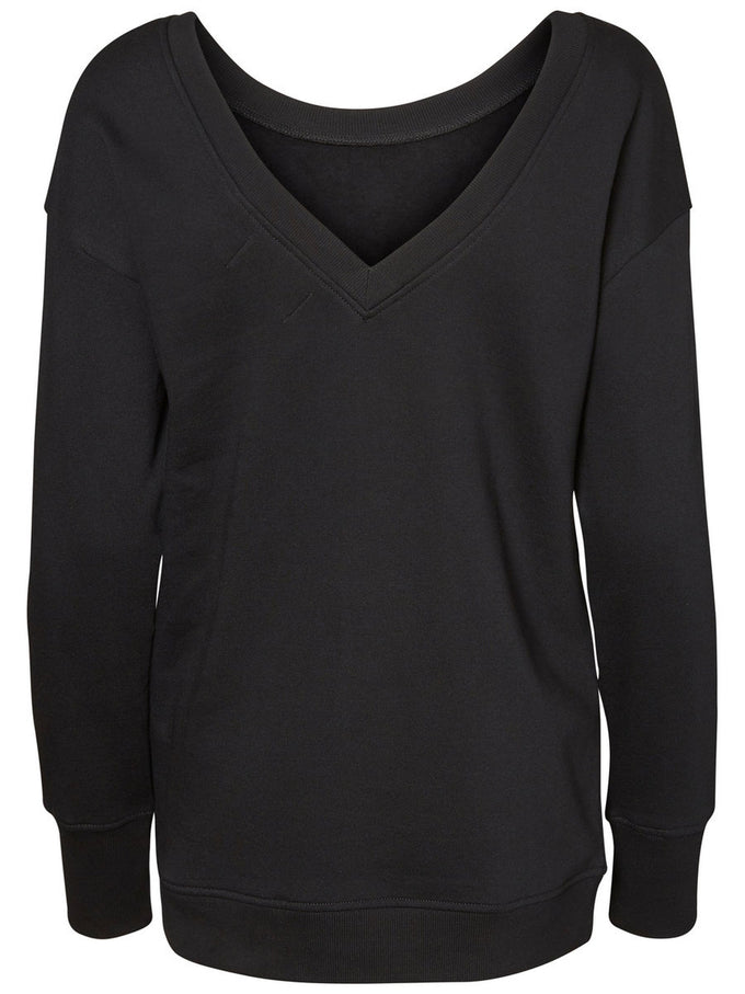 LONG LIGHT SWEATSHIRT BLACK