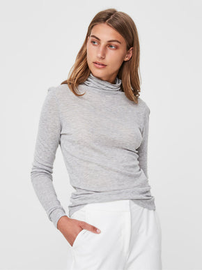 LIGHT LYOCELL TURTLENECK