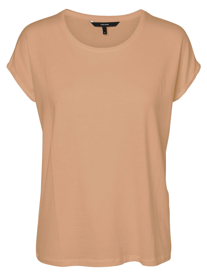 LIGHT LYOCELL T-SHIRT TAN