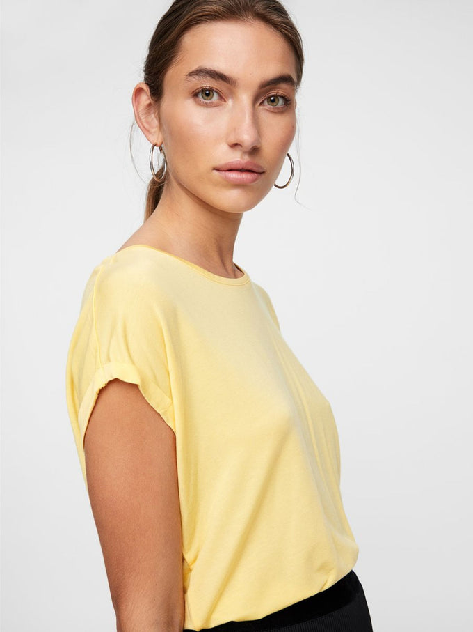 LIGHT LYOCELL T-SHIRT YARROW