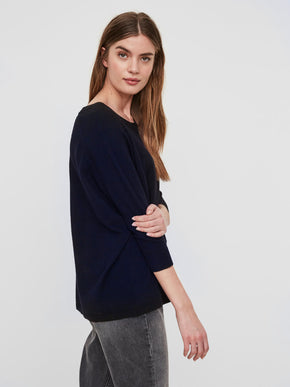 3/4 SLEEVE LIGHT SWEATER