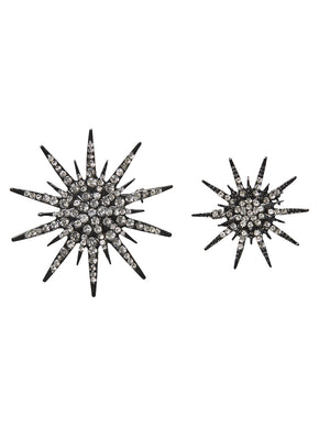 GLITTER BROOCHES 2-PACK