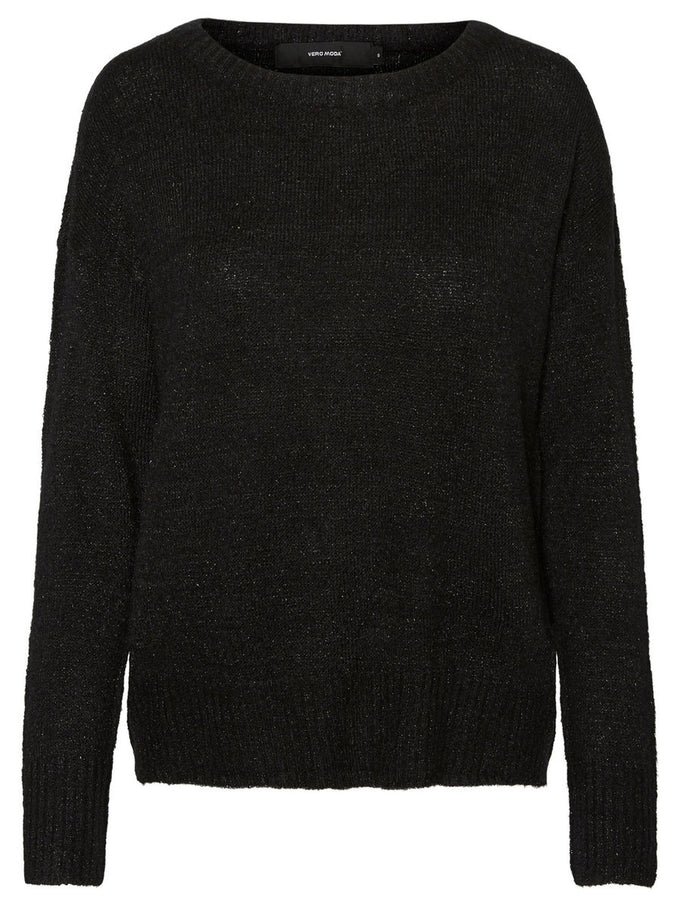 BOATNECK SWEATER BLACK