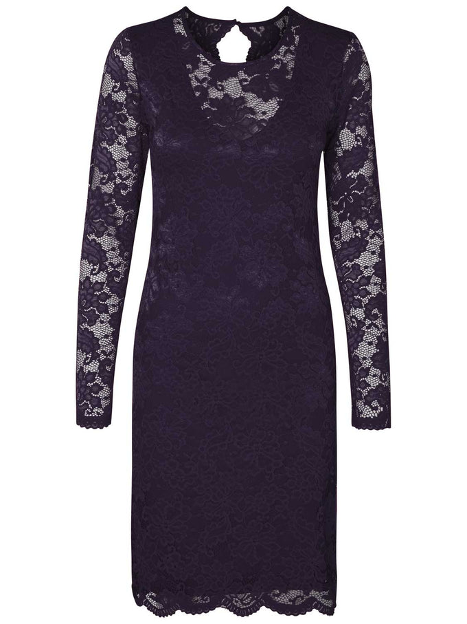 LACE DRESS NIGHTSHADE