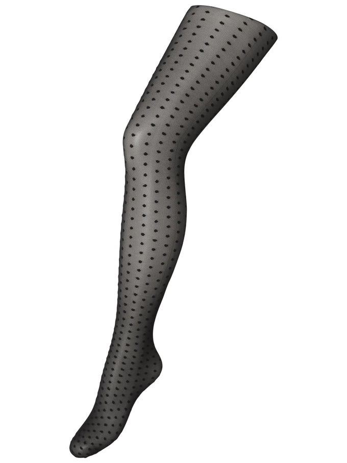 COLLANTS À POIS VMCLASSY NOIR