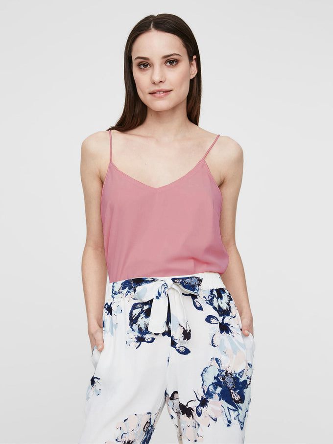 FLUID CAMI ASH ROSE