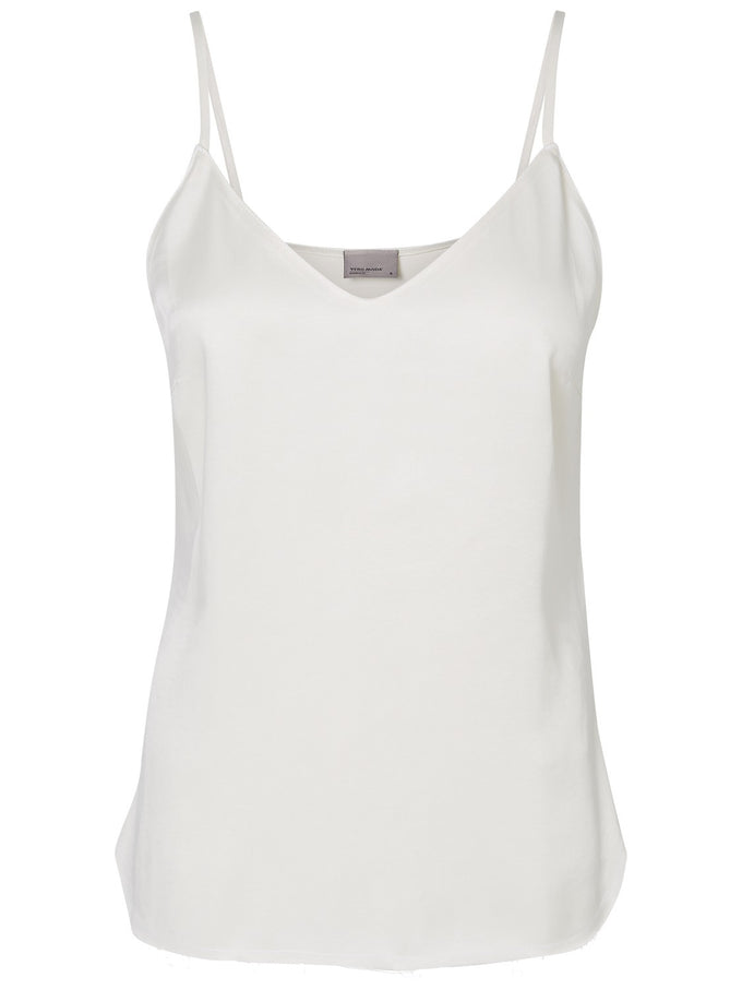 CUPRO SOLID CAMI MM/VM SNOW WHITE