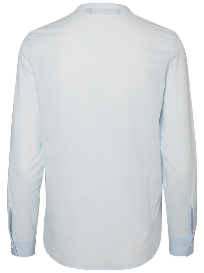 COLLARLESS SHIRT MM/VM PLEIN AIR