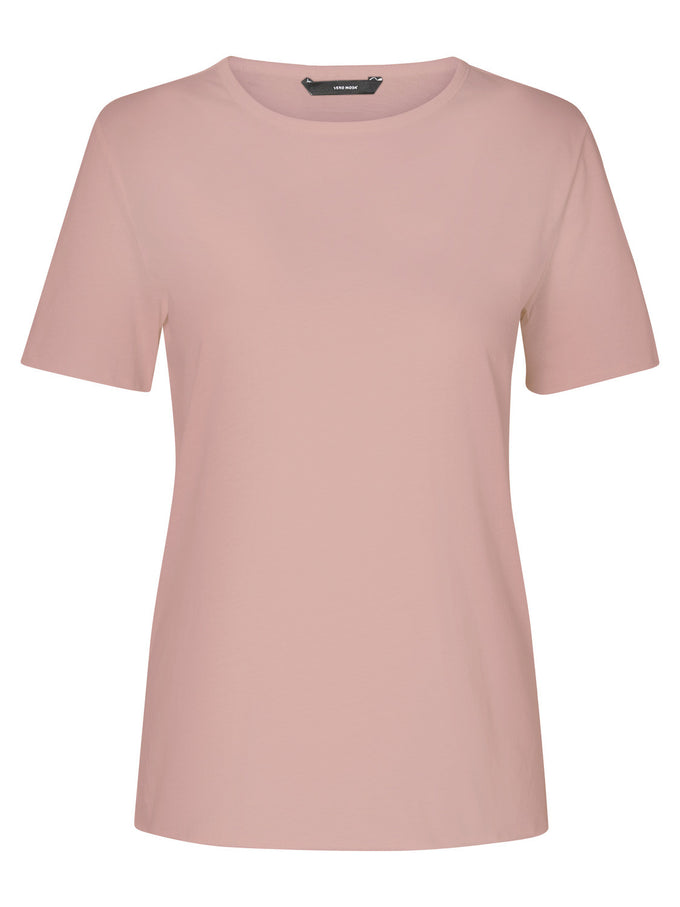 T-SHIRT 100% COTON VM/MM CORAIL