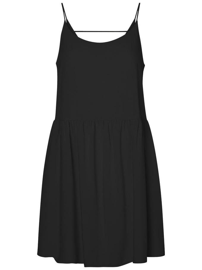 VMGOA CAMI DRESS BLACK PATTERN
