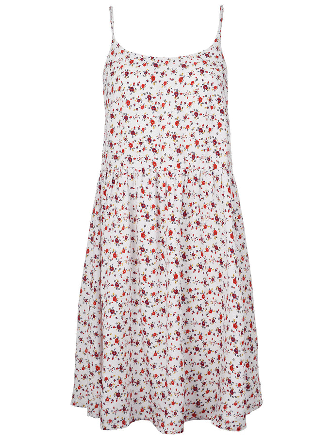 VMGOA CAMI DRESS SNOW WHITE