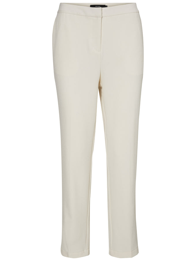 SLIM FIT CREPE DRESS PANTS EGGNOG