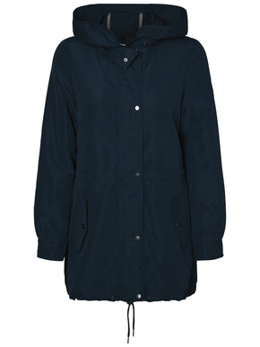 HIGH-LOW SPRING PARKA
